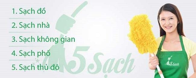 5 sạch là top 10 cong ty dịch vụ vệ sinh công nghiệp tốt nhất ở hà nội