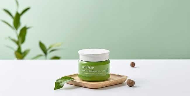 Kem dưỡng ban đêm Innisfree Green Tea Fresh Skin