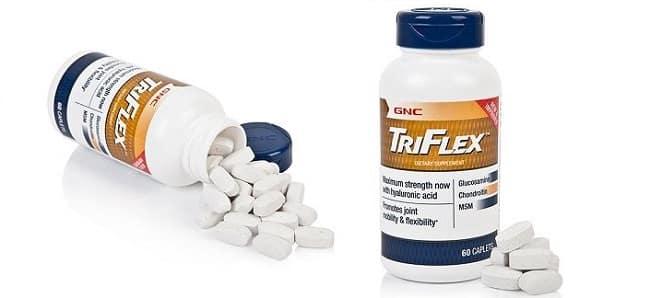 Thực phẩm chức năng tái tạo sụn khớp GNC Triflex Promotes Joint Health