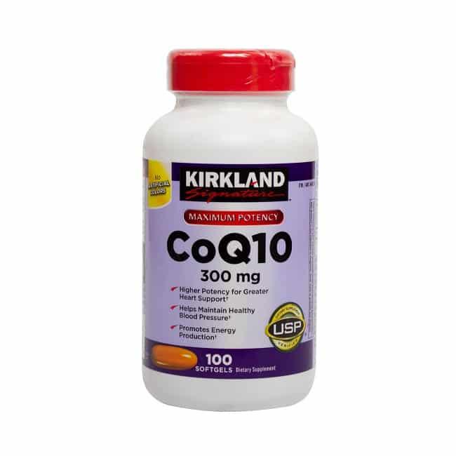 Viên thuốc chống đột quỵ của mỹ Maximum Potency CoQ10 300mg