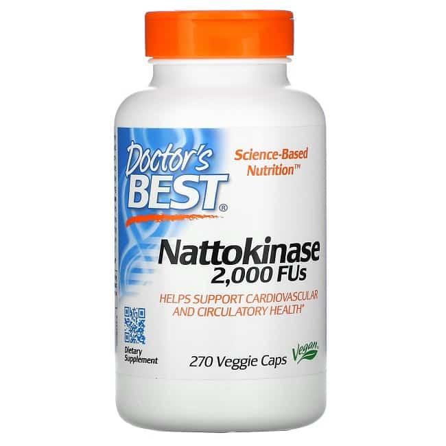 Viên thuốc chống đột quỵ của mỹ Doctor's best Nattokinase