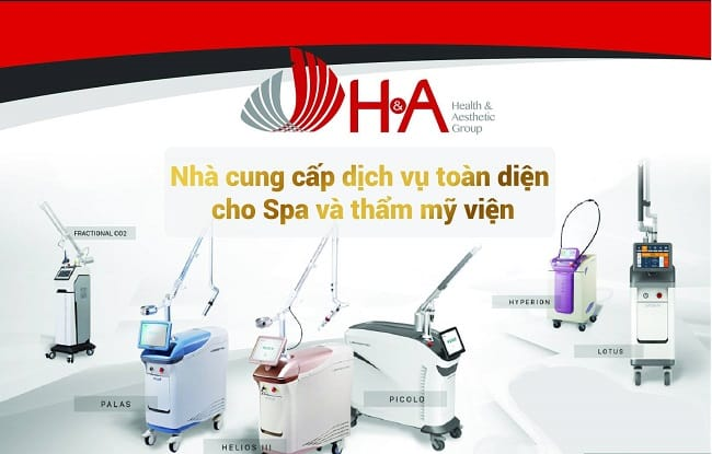 Công ty thiết bị mỹ phẩm - HATech